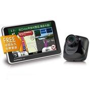 佳明 2565R Plus GPS导航仪 5寸黑色 导航行车记录仪一体机