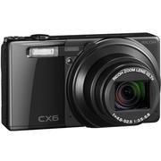 理光 CX6 数码相机(黑色)