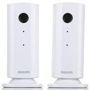 飞利浦 M100G 无线远程视频监视器 单包装双产品