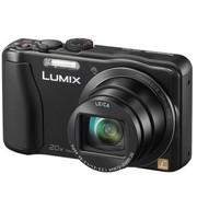 松下 DMC-ZS25GK-K 数码相机 黑色 (1610万像素 3.0英寸液晶屏 20倍光学变焦 24mm广角)