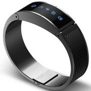I-mu 智能手环 蓝牙4.0 进口钛合金纯手工打磨 运动睡眠管理 来电提醒 蓝牙防丢 远程自拍 M号