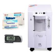 鱼跃 YUYUE制氧机7F-1氧护士 +氧气袋+吸氧管+计步器