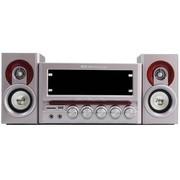 金正 3688  2.1木质多媒体有源音箱 USB迷你组合音响 插卡音箱