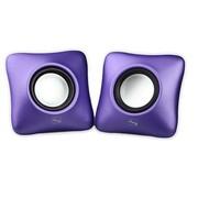二小 小音箱音响 迷你 紫色