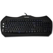 优派 X4血魔 魔器帝国系列背光游戏竞技键盘USB (黑色)