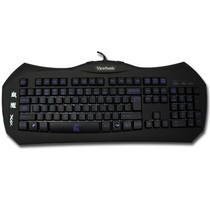 优派 X4血魔 魔器帝国系列背光游戏竞技键盘USB (黑色)产品图片主图