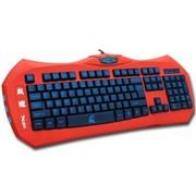 优派 X4血魔 魔器帝国系列背光游戏竞技键盘USB (红色)
