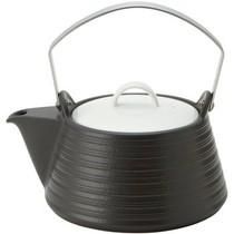 赛美特 THERMATEC耐高温IH养生壶茶壶陶瓷壶花茶壶煮茶壶烧水壶1.5L黑色产品图片主图