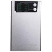 卡格尔(Cager) WF30-4 3G路由/WIFI无线路由/中继器/云存储/大容量 10400毫安移动电源双USB 银色