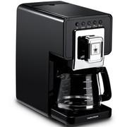 摩飞 MR4680 英国 多功能微压带泡茶功能咖啡机 钢琴黑