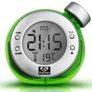 BigToys Along-C1120 智能水发电闹钟 终身无需电池的水元素魔法时钟 创意环保礼品 绿色