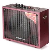 金正 SM-916 高级多媒体专业功能  便携式插卡户外专业卡拉OK  有源音响 红色