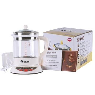 容声 养生壶 正品加厚玻璃 电煮茶器 酸奶花茶壶 分体煎药壶产品图片4
