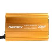 纽曼 车载逆变器12V转220V 200W 汽车电源转换器 车载电源 充电器