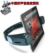 咔哟 战神HERO4.0蓝牙音箱平板电脑蓝牙音响NFC自动配对智能语音支架音响带锂电 黑色