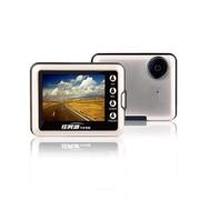 任我游 N568 行车记录仪 1080P有声录影 自动循环即时回放 广角无盲区