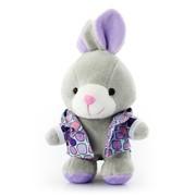 艾米(iMMi) IP-203 卡通个性移动电源 米米兔(站姿)系列—紫色 创意便携毛绒移动电源 全球首创 三星电芯