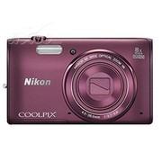 尼康 S5300 数码相机 紫色(1602万像素 3英寸液晶屏 8倍光学变焦)