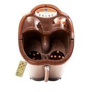 涌金 ZY-668足浴盆全自动按摩洗脚盆电动按摩加热泡脚盆深桶足浴器 半盖经典 单份礼包