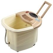 涌金 ZY-888全自动按摩洗脚盆按摩加热电动泡脚桶足浴器 移动拉杆设计