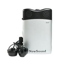 新声 / B80P独创双耳调节老人盒式助听器 黑色产品图片主图