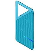Keep key 蓝牙4.0智能双向防丢器 跟踪器 遥控拍照 防盗报警器 L 蓝色