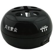 月光宝盒 爱国者(aigo) 口袋音箱 E086 黑色 笔记本便携迷你音箱、手机音箱、电脑音箱