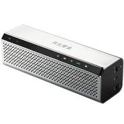 月光宝盒 爱国者(aigo)B28银色 蓝牙无线免提通话小音箱插卡重低音立体声播放器 手机电脑可用