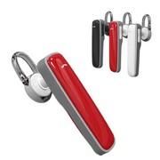 乐迈 双通道车载蓝牙耳机  适用于苹果iphone5s三星小米2S 通用型 红色