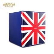 威斯巴登 威斯巴登weisbaden bc49 小冰箱 家用一级节能 50L 带冷冻 英国风