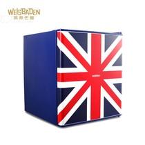 威斯巴登 威斯巴登weisbaden bc49 小冰箱 家用一级节能 50L 带冷冻 英国风产品图片主图