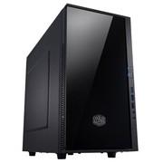 酷冷至尊 小清风 静音机箱(Micro-ATX/USB3.0/背走线/电源下置/支持SSD)黑色