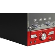 金正 2688 2.1木质多媒体有源音箱 USB迷你组合音响 插卡音箱