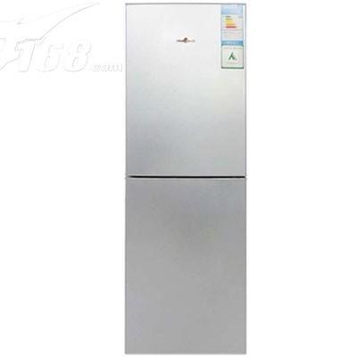 美的 BCD-176SQMK 176升双门冰箱(极光银)产品图片1