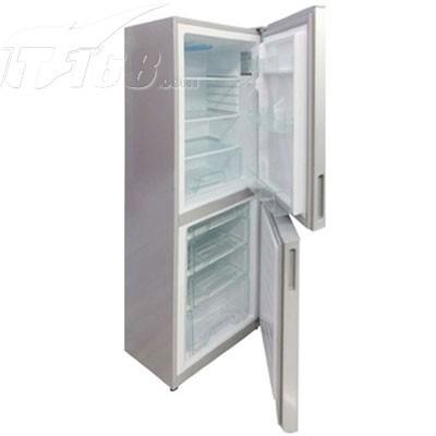美的 BCD-176SQMK 176升双门冰箱(极光银)产品图片2