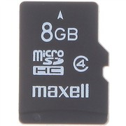 麦克赛尔 8G MicroSDHC(TF)存储卡(Class4)