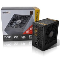 安钛克 额定550W  新模尊  Neo Eco 550M 电源 80PLUS铜牌/模组化线材管理/ 120mm双滚珠轴承风扇产品图片主图