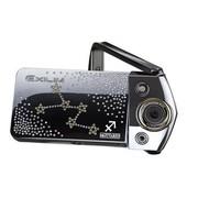 卡西欧 EX-TR350 采用施华洛世奇元素 射手座 (1210万像素 3.0英寸超高清LCD 21mm广角 自拍神器)