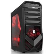 先马 刺客1重装版 游戏机箱 (U3/超大侧透/SSD/黑化背线下置防尘/长显卡)刺客重装升级!