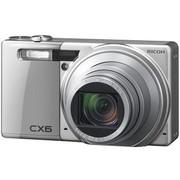 理光 CX6 数码相机(银色)