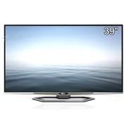 TCL 云晰 L39E5690A-3D 39英寸3D网络智能4K云电视(银色)