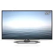TCL 云晰 L55E5690A-3D 55英寸3D网络智能4K云电视(银色)