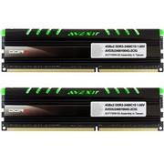宇帷 CORE系列 清新绿 DDR3 2400 8GB(4G×2条)台式机内存(AVD3U24001004G-2CIG)