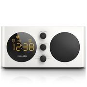 飞利浦 AJ6200D iPhone6/iPhone5专用音乐充电基座家用音响 时钟收音机