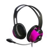 方正科技 EH9003 高保真立体声头戴式耳包型耳机 柔和紫