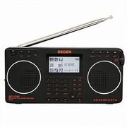 德劲 DE1128H 便携式多功能数码复读收录放音响(4G)内存 全波段收音机