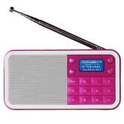 熊猫 DS-186 数码音响-数码播放器 迷你数码插卡点唱机(红色)