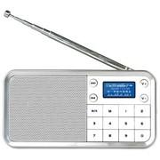 熊猫 DS-186 数码音响-数码播放器 迷你数码插卡点唱机(白色)