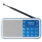 熊猫 DS-186 数码音响-数码播放器 迷你数码插卡点唱机(蓝色)