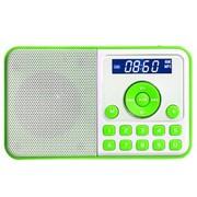 熊猫 DS-172 数码音响播放器 迷你插卡小音箱FM收音机(绿色)